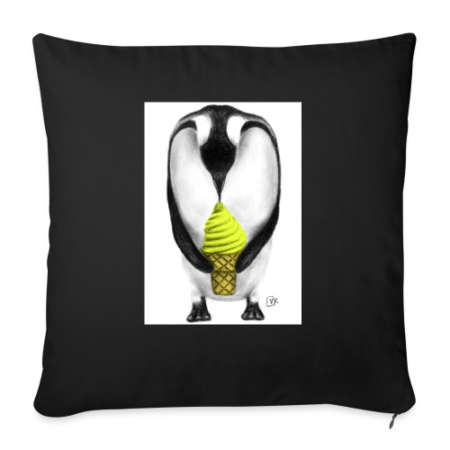 Penguin Adult - Sofa pillow with filling 45cm x 45cm