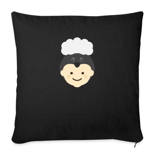 Nancy the Sheep | Ibbleobble - Sofa pillow with filling 45cm x 45cm