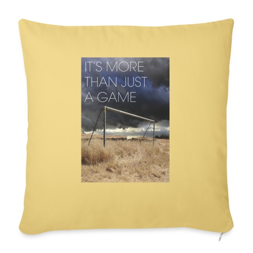 more - Sofa pillow with filling 45cm x 45cm