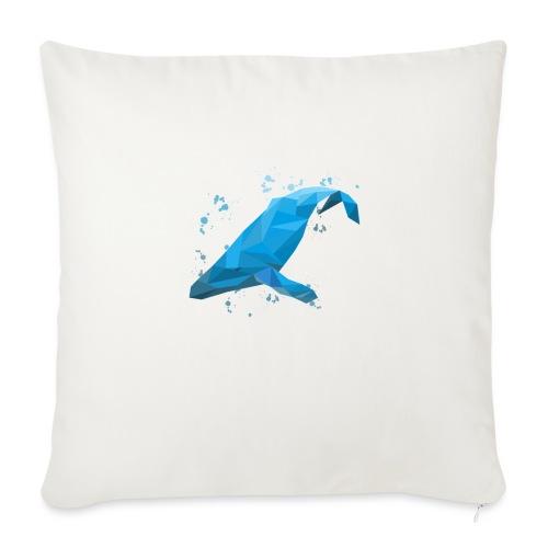 Wal Buckelwal Blauwal Naturschutz - Sofakissen mit Füllung 44 x 44 cm