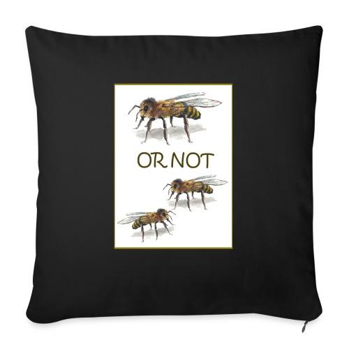 Bee or not to Bees... - Sofakissen mit Füllung 44 x 44 cm
