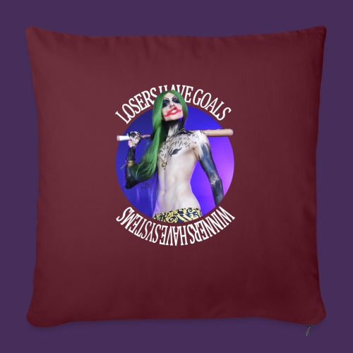 The Clown Prince - Sofa pillow with filling 45cm x 45cm