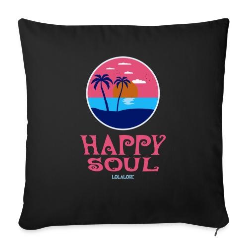 Happy Soul! - Sofakissen mit Füllung 44 x 44 cm