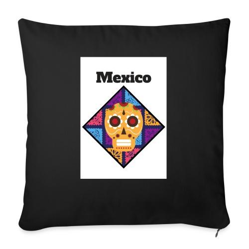 Mexico Calavera - Cojín de sofá con relleno 44 x 44 cm