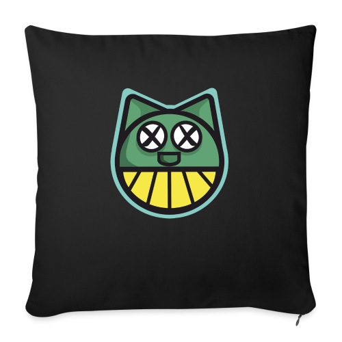 ZOMBIE CAT PRINT HOODIE - Sofa pillow with filling 45cm x 45cm