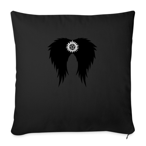 Supernatural wings (vector) Hoodies & Sweatshirts - Sofa pillow with filling 45cm x 45cm