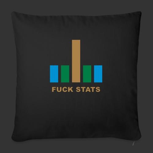 F*CK Stats - Coussin et housse de 45 x 45 cm