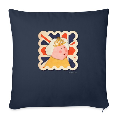 The Queen - Sofa pillow with filling 45cm x 45cm