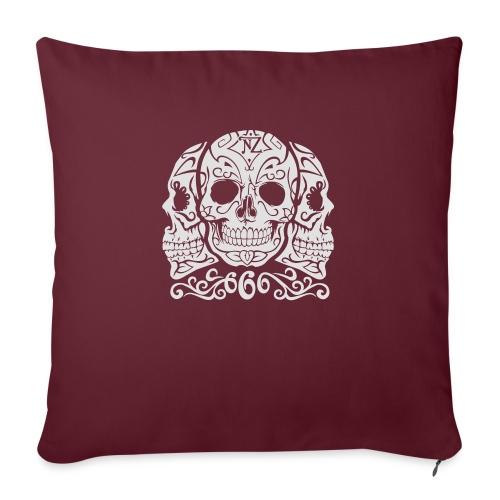 Skull Dia de los muertos - Coussin et housse de 45 x 45 cm
