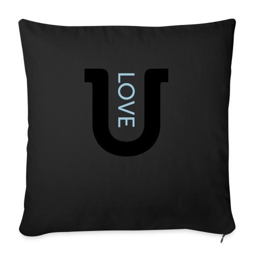 love 2c - Sofa pillow with filling 45cm x 45cm