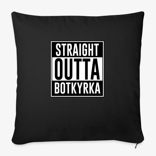 Straight Outta Botkyrka - Soffkudde med stoppning 44 x 44 cm