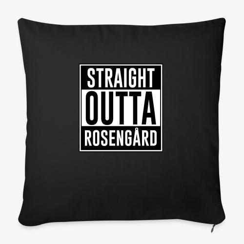Straight Outta Rosengård - Soffkudde med stoppning 44 x 44 cm