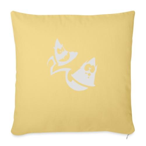 Conos diabolicos con estela - Cojín de sofá con relleno 44 x 44 cm