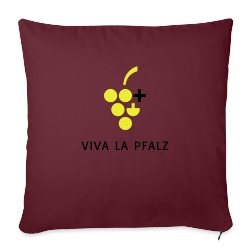 W+ Viva la Pfalz - Sofakissen mit Füllung 44 x 44 cm