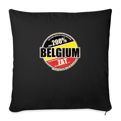 Belgium Vintage - Bankkussen met vulling 44 x 44 cm