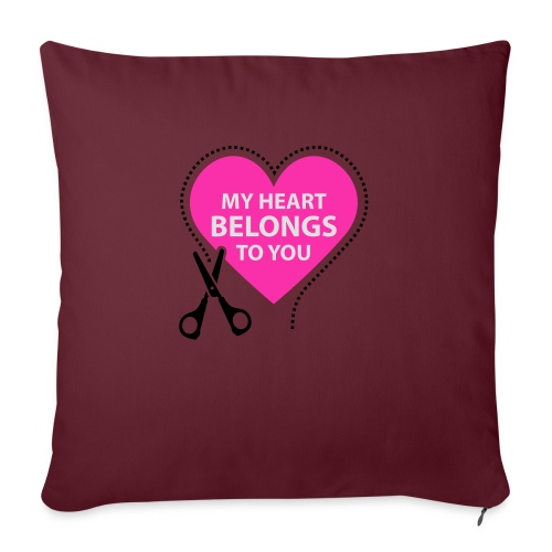 My Heart - Sohvatyynyt täytteellä 44 x 44 cm
