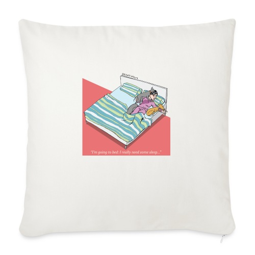 pajama party - Sofa pillow with filling 45cm x 45cm