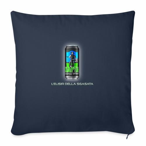 Nafta Energy Drink - Cuscino da divano 44 x 44 cm con riempimento