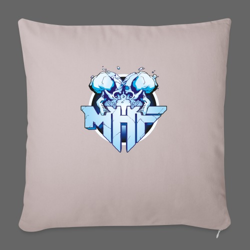 MHF New Logo - Sofa pillow with filling 45cm x 45cm