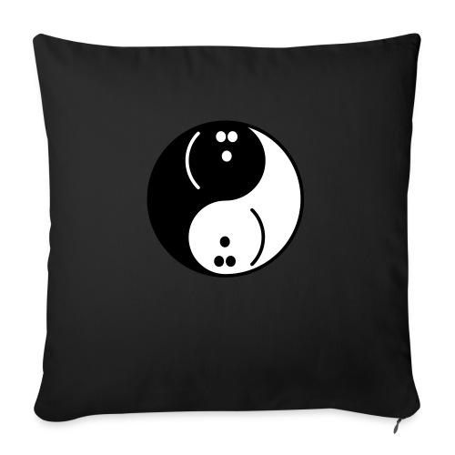 Bowling Yin-Yang - Sofa pillow with filling 45cm x 45cm