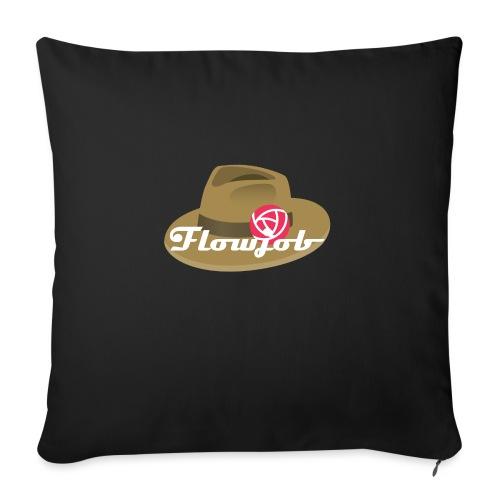 Flowjob Logo - Sofa pillow with filling 45cm x 45cm
