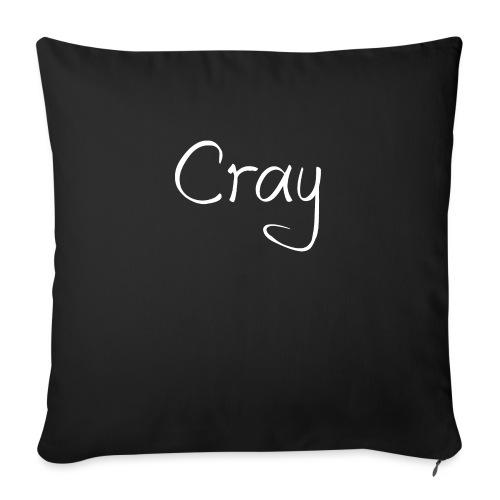 Cray Lang Ärmel TShirt für über 14 jahren - Sofakissen mit Füllung 44 x 44 cm