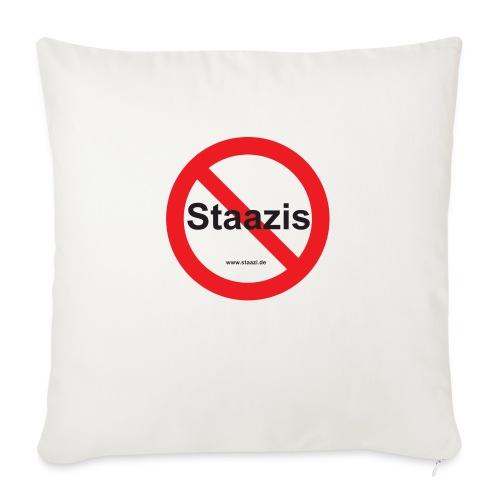 Staazis Verboten - Sofakissen mit Füllung 44 x 44 cm