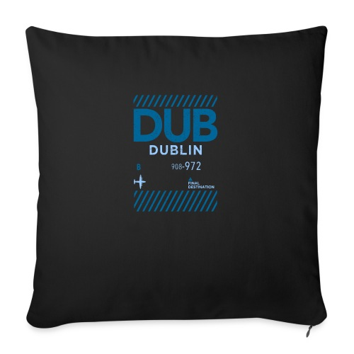 Dublin Ireland Travel - Sofa pillow with filling 45cm x 45cm
