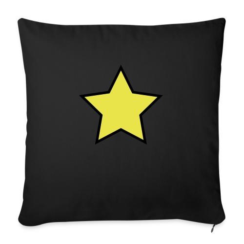 Star - Stjerne - Sofa pillow with filling 45cm x 45cm
