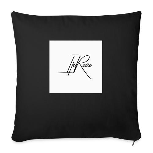 Small logo white bg - Sofa pillow with filling 45cm x 45cm