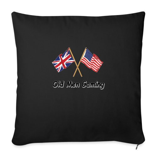 OMG logo - Sofa pillow with filling 45cm x 45cm