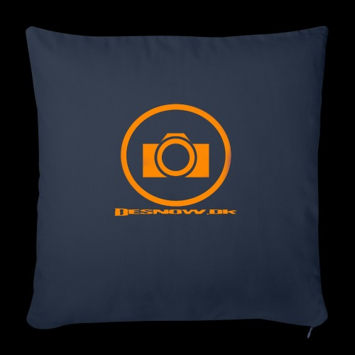 Orange 2 png - Sofapude med fyld 44 x 44 cm