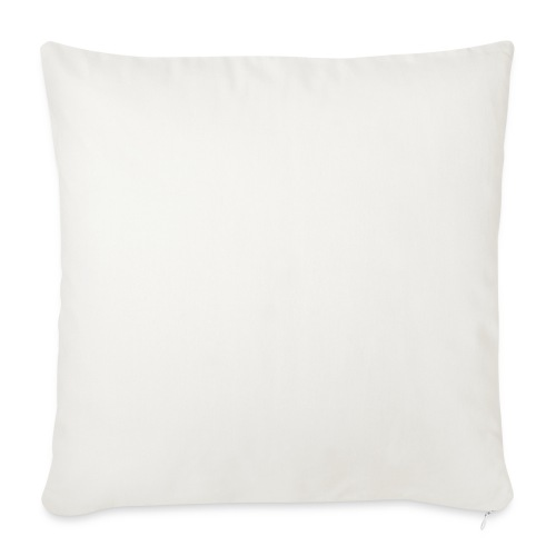 Fantasy white scribblesirii - Sofa pillow with filling 45cm x 45cm