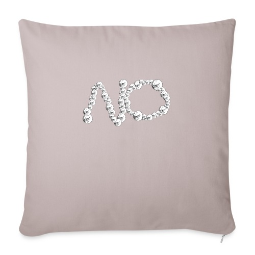 No Meme - Cuscino da divano 44 x 44 cm con riempimento