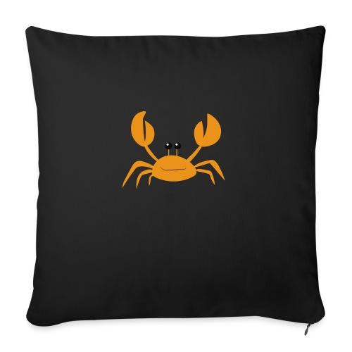 crab - Cuscino da divano 44 x 44 cm con riempimento