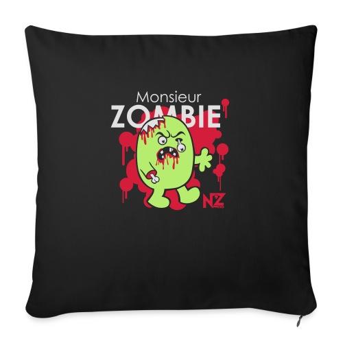 mr zombie - Coussin et housse de 45 x 45 cm