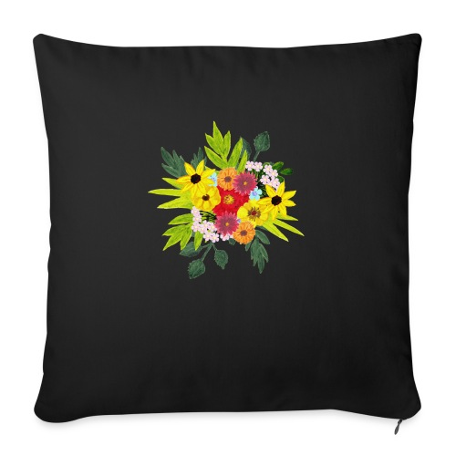 Flower_arragenment - Sofa pillow with filling 45cm x 45cm