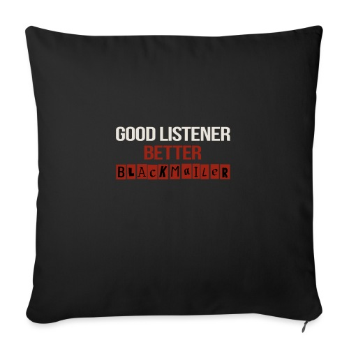 Good Listener - Sofa pillow with filling 45cm x 45cm