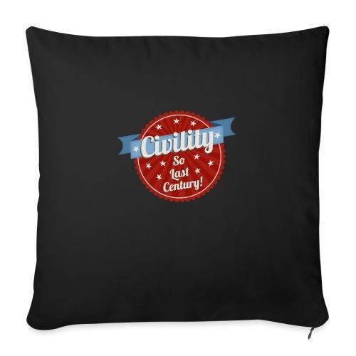 Civility - Sofa pillow with filling 45cm x 45cm