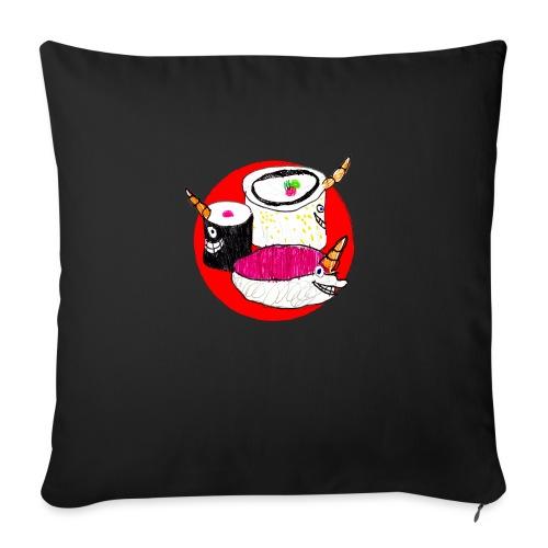 Unicorn Sushi - Sofa pillow with filling 45cm x 45cm