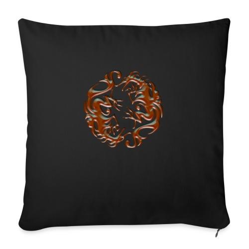 House of dragon - Cojín de sofá con relleno 44 x 44 cm
