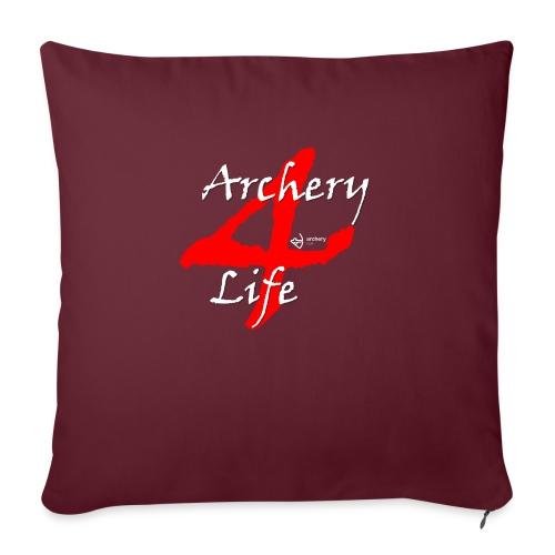 Archery4Life white - Sofakissen mit Füllung 44 x 44 cm