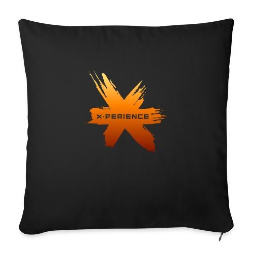 X-Perience Orange Logo - Sofakissen mit Füllung 44 x 44 cm