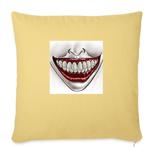 Smile Maske - Sofakissen mit Füllung 44 x 44 cm