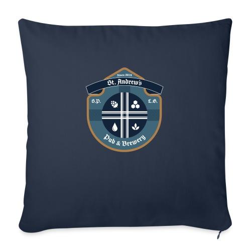 St Andrews T-Shirt - Cuscino da divano 44 x 44 cm con riempimento