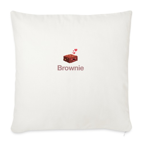 Brownie - Sofakissen mit Füllung 44 x 44 cm