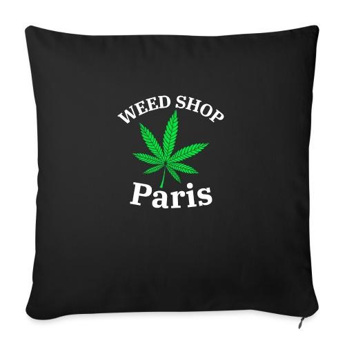 weed shop paris - Coussin et housse de 45 x 45 cm