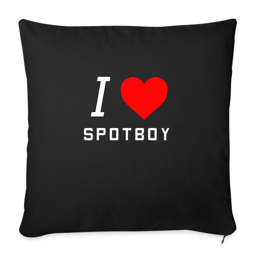 I Love Spotboy - Sofapude med fyld 44 x 44 cm