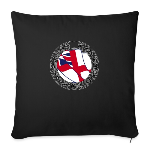 Hands to Harbour Stations (DC) - Sofa pillow with filling 45cm x 45cm