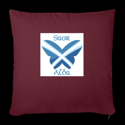 Saor Alba butterfly - Sofa pillow with filling 45cm x 45cm